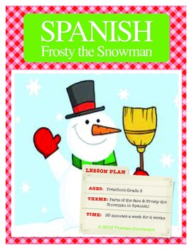 Winter Spanish for Toddlers/Elementary Grades-Frosty the Snowman