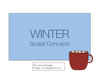 Winter Spatial and Locational Concepts Book