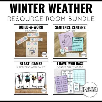 Winter Special Education Bundle