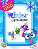 Winter ✻ Spectacular Sight Word UNO (First)