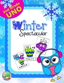 Winter Spectacular Sight Word UNO (Second)