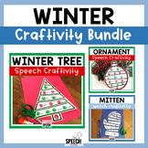 Winter Speech Craft Bundle