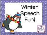 Winter Speech Fun