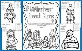 Winter Speech Glyphs