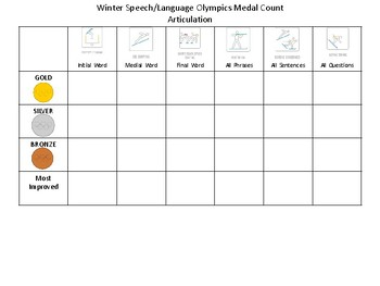 Winter Speech/Language Olympics