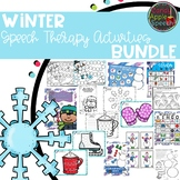 Winter Speech Therapy Activities Bundle