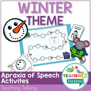 Winter Speech Therapy Activities Value Bundle