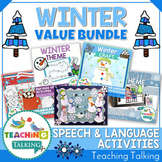Winter Speech Therapy Activities Value Bundle