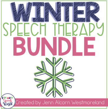 Winter Speech Therapy Bundle!
