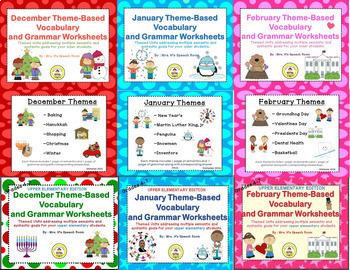 Winter Speech Therapy MEGA Bundle