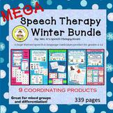 Winter Speech and LanguageTherapy MEGA Bundle