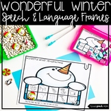 Winter Speech Therapy: No Prep Articulation and Language
