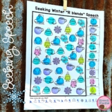 Winter Speech Therapy Seeking Activity {articulation}