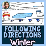 Winter Speech Therapy | Winter Speech and Language | Following Directions