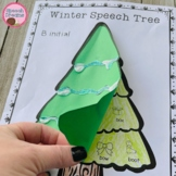 Winter Tree Speech Therapy Craft