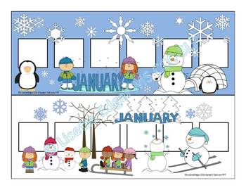 Winter Speech Therapy Vocabulary Games: Christmas, Winter & Valentine's Day