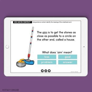 Winter Speech and Language Activities No Print Interactive PDF