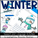 Winter Speech and Language Activities for Speech Therapy