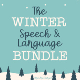 Winter Speech and Language BUNDLE