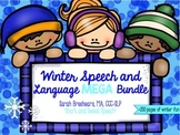 Winter Speech and Language MEGA Bundle