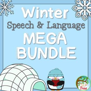 Winter Speech and Language MEGA Bundle