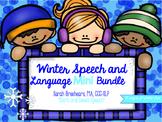 Winter Speech and Language Mini Bundle