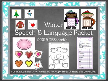 Winter Speech and Language Packet