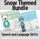 Winter Speech and Language: Snow Themed Resource