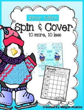 Common Core Winter Spin and Cover Ten More, Ten Less
