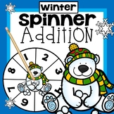 Winter Addition Game First Grade