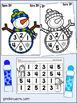 Winter Spinner Games - Math & Literacy, Pre-K Preschool   EDITABLE