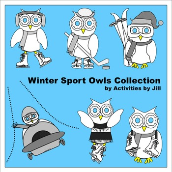 Winter Sport Owls Collection