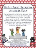Winter Sport Receptive Language Pack