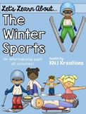 Winter Sports 2018 Activity Pack {Reading, Math & Writing}