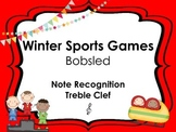 Winter Sports: Bobsled Treble Clef