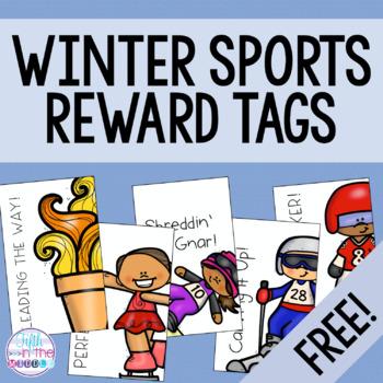 Winter Sports Brag Tags