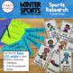 Winter Sports Bulletin Board and Mini Research Kit