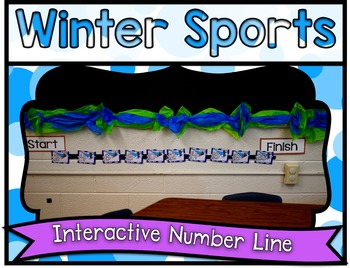 Winter Sports Center ~ Interactive Number Line