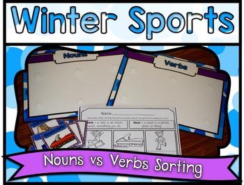 Winter Sports Center ~ Nouns VS Verbs