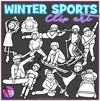 Winter Sports Competition clip art