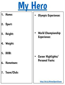 Winter Sports Digital Resource