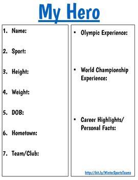 Winter Sports Digital Resource