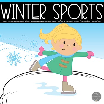 Winter Sports Emergent Reader and Mini Literacy Unit