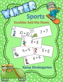 Winter Sports Fun Doubles Add the Room Sums to 20
