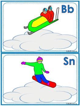 Winter Sports Fun! Playdoh Activity Pack