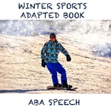 Winter Sports Galore Adapted Book