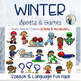 Speech & Language Themed Therapy Fun Pack:  WINTER SPORTS & GAMES