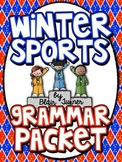 Winter Sports Grammar Packet