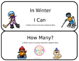 Winter Sports Interactive Adapted Book - set of 2