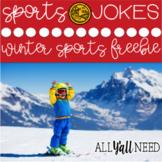 Winter Sports Jokes Freebie!